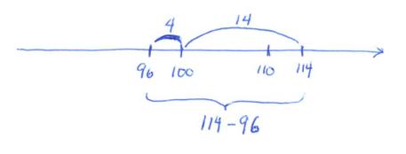 Subtract114minus96