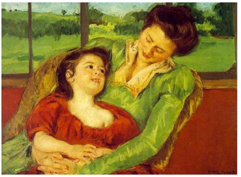 Mary_Cassatt_Mère_et_enfant_1903_Armory_Show_1913